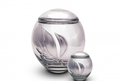 james-funeral-service-Crystal-Urn-Silver