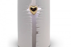 Wrapped Heart LED Urn