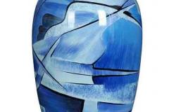 james-funeral-service-Aluminium-Urn-in-blue
