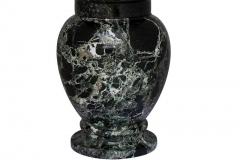 Marble Urn Black Natural