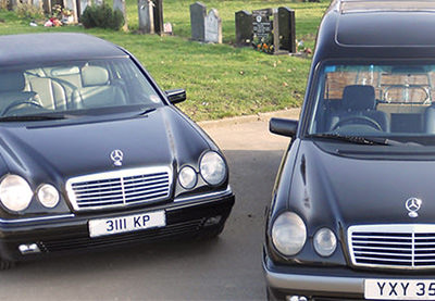 James Funeral Service Harrow Motorbike Hearse