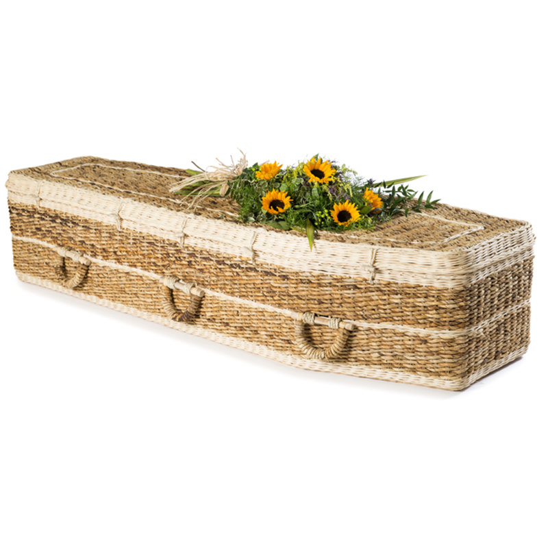 James Funeral Service Banana Leaf Traditional Coffin
