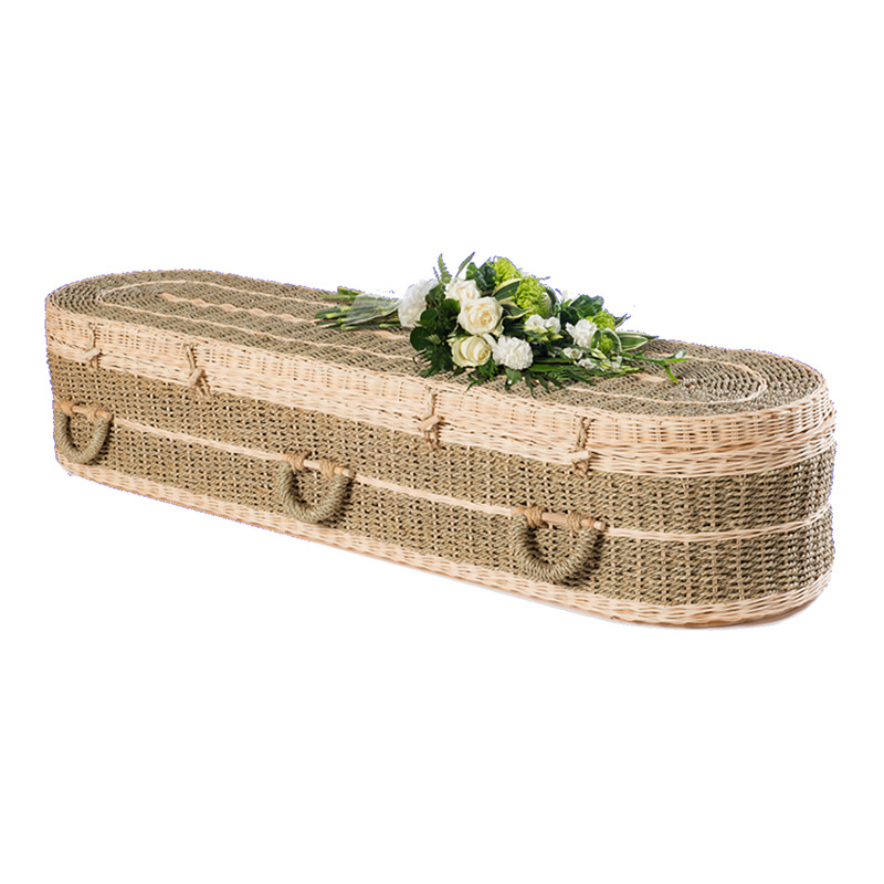 James Funeral Service Round Pandanus Coffin