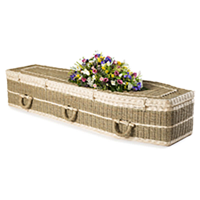 James Funeral Service Traditional Pandanus Coffin
