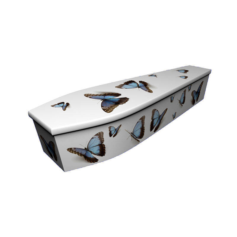 James Funeral Service - Customised Butterfly Coffin